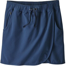 Patagonia Fleetwith rok Dames blauw